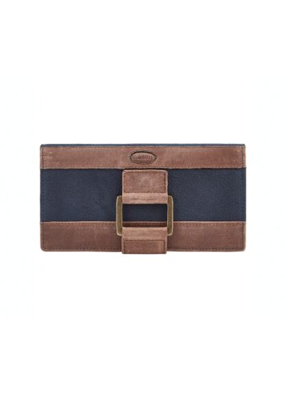Dubarry Dunbrody Leather Purse Navy/Brown