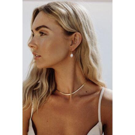 Ella Palm Clara 18k Gold Pearl Earrings Gold