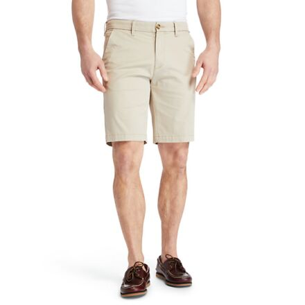 Timberland Straight Chino Shorts Humus