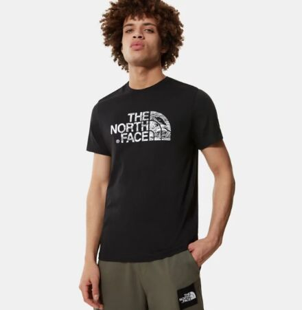 The North Face Men's Woodcut Dome T-Shirt Black