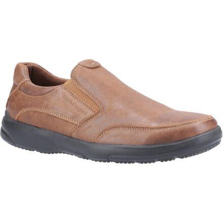 Hush Puppies Aaron Slip on Shoe Brown