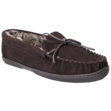 Hush Puppies Ace Slippers Chocolate