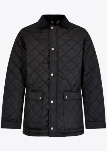 Dubarry Adare Quilted Jacket Black