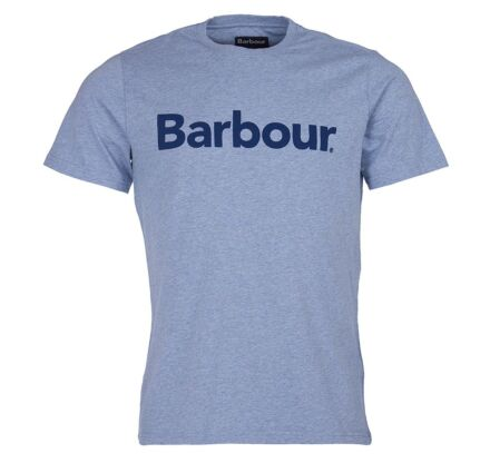 Barbour Adfern Tee Chambray Blue
