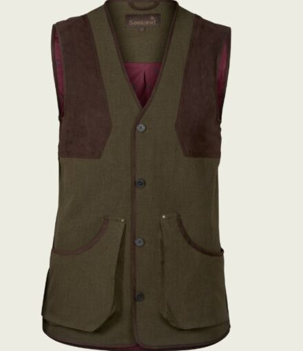 Seeland Mens Woodcock Advanced Waistcoat Shaded Olive