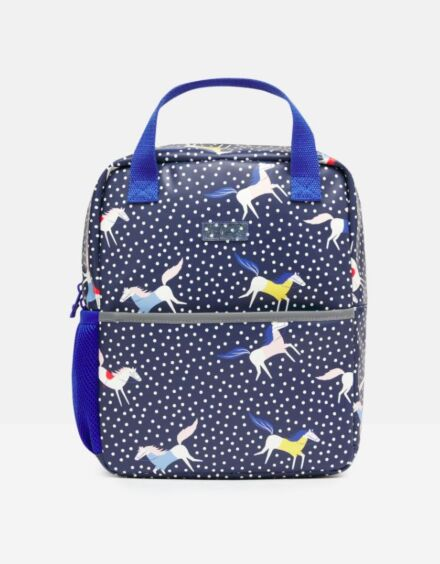Joules Adventure Rubber Backpack Horse Spot