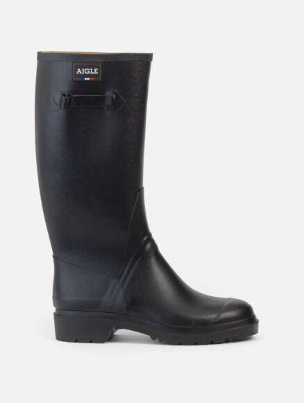 Aigle Ladies Cessac Noir Wellington Boot