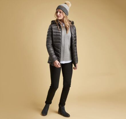Barbour Ailith Quilt Ash Grey