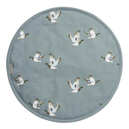 Sophie Allport Ducks Circular Hob Cover