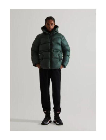 Hunter Women's Original A-Line Puffer Jacket Arctic Moss Green