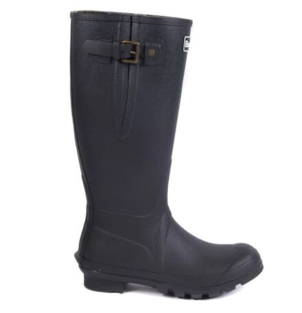 Barbour Men's Amble Neoprene Wellington Boot Black