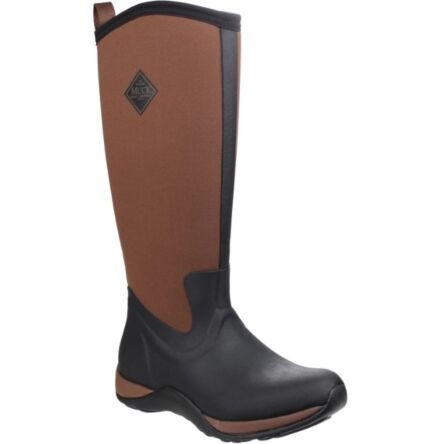 Muck Boots Arctic Adventure Pull On Boots Black/Tan