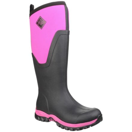 Muck Boots Women Arctic Sport II Tall Black/Pink