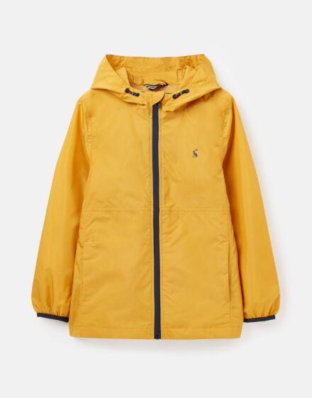Joules Arlow Waterproof Packable Jacket Yellow