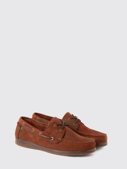 Dubarry Armada X LT Deck Shoes Walnut