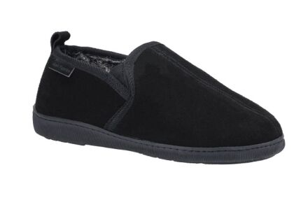 Hush Puppies Arnold Slippers Black