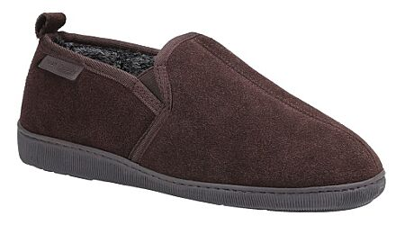 Hush Puppies Arnold Slippers Brown
