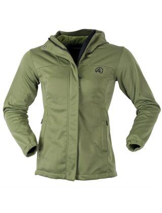 Ridgeline Women's Ascent Soft Shell Jacket Field Olive