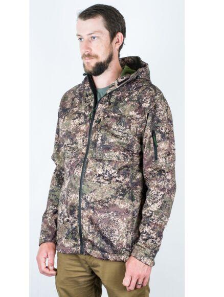 Ridgeline Ascent Soft Shell Jacket Dirt Camo