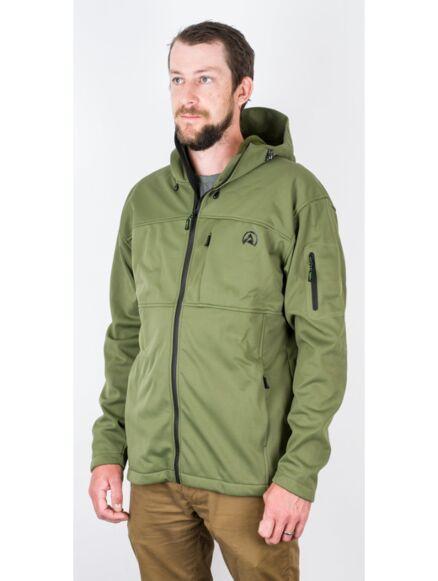 Ridgeline Ascent Soft Shell Jacket Olive