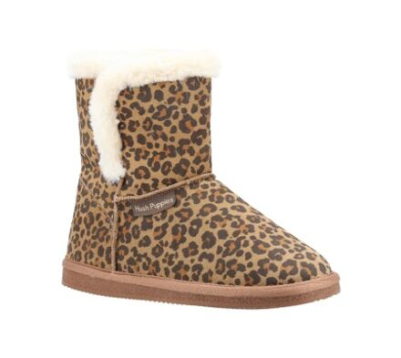 Hush Puppies Ashleigh Slippers Leopard