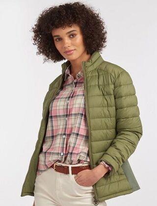 Barbour Ashridge Quilt Jacket Bayleaf