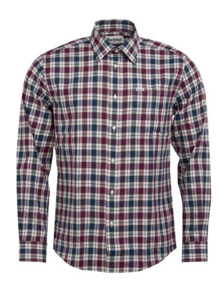 Barbour Astwell Shirt Merlot