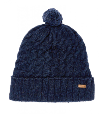 Dubarry Athboy Knitted Hat Navy