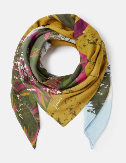 Joules Atmore Scarf Blue Location