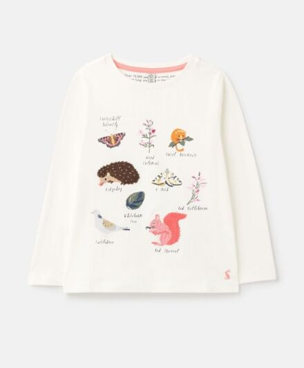 Joules Ava Artwork Top Wood Facts
