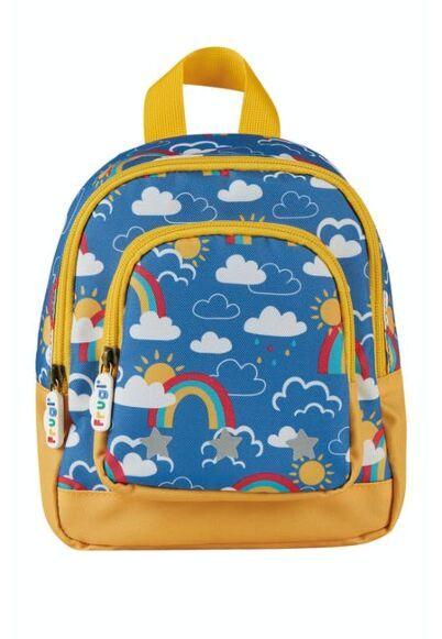 Frugi Little Adventurers Backpack Rainbow Skies