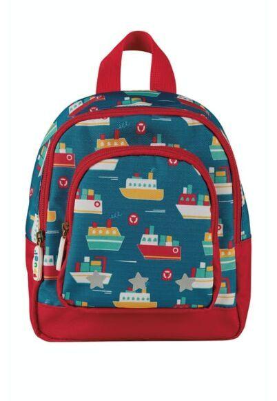 Frugi Little Adventurers Backpack Sail the Seas