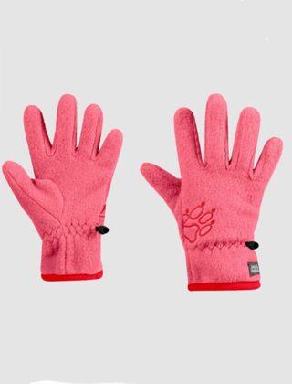 Jack Wolfskin Baksmalla Fleece Gloves Coral Pink