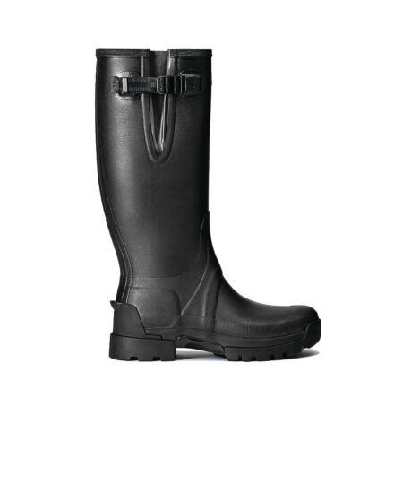 Hunter Men's Balmoral Side Adjustable Neo Tech Sole Boot Black