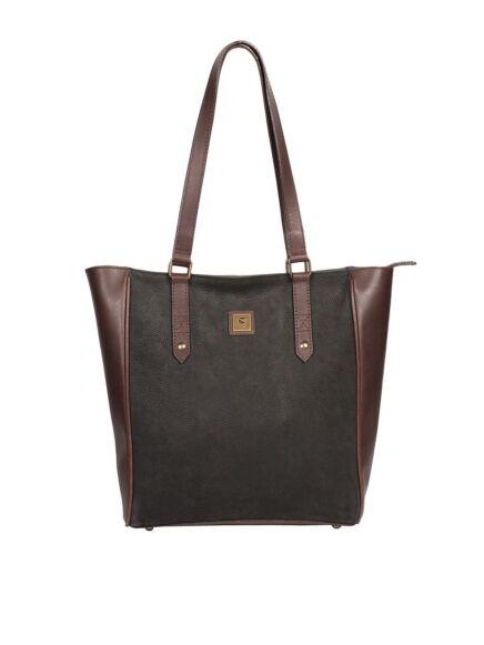 Dubarry Bandon Tote Bag Black/ Brown