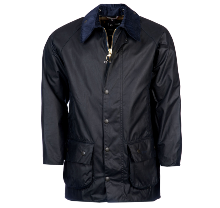 *AW20-images* Barbour Beaufort Wax Jacket Navy