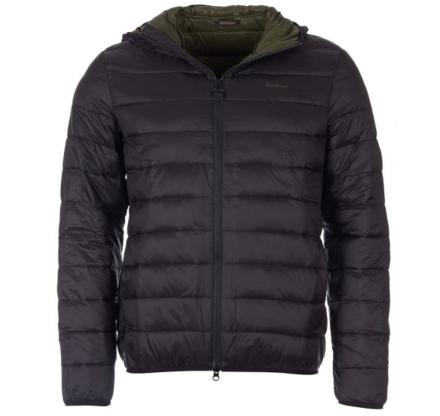 Barbour Benton Quilted Jacket Black