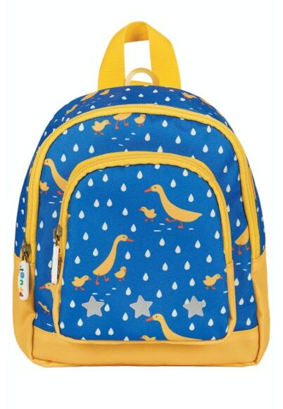 Frugi Little Adventurers Backpack Runner Ducks