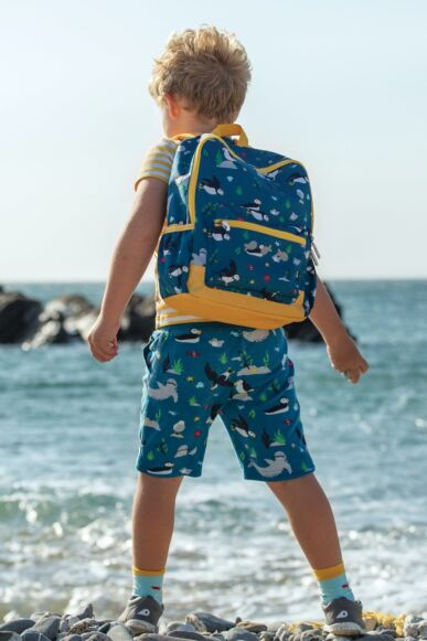 Frugi The National Trust Adventurers Backpack Puffin