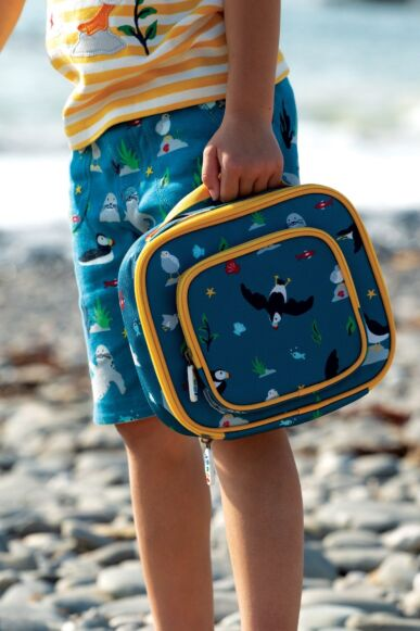 Frugi The National Trust Pack A Snack LunchBag Puffin