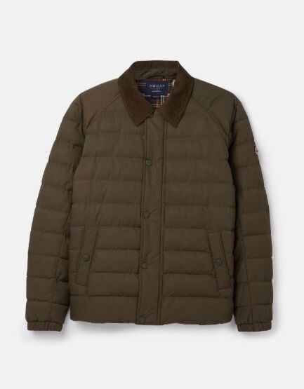 Joules Bayford Padded Outer Coach Jacket Green