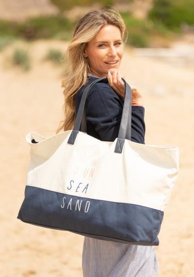 Brakeburn Sun Sea Sand Beach Bag Multi