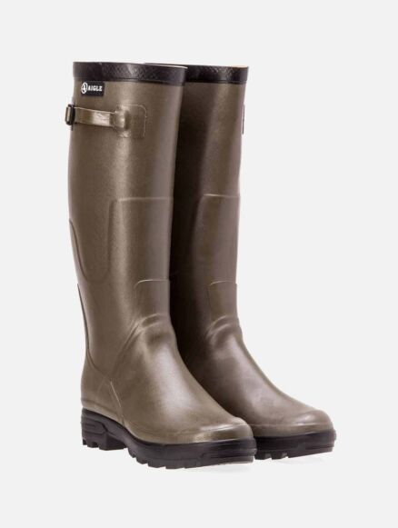 Aigle Benyl M Khaki Wellington Boot