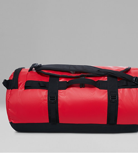 The North Face Base Camp Duffel Bag Red/Black Medium