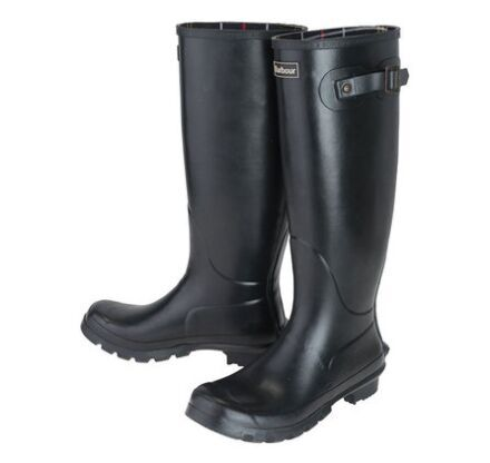 Barbour Womens Bede Wellington Boots Navy