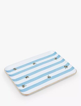 Joules Small Tray Bee Stripe