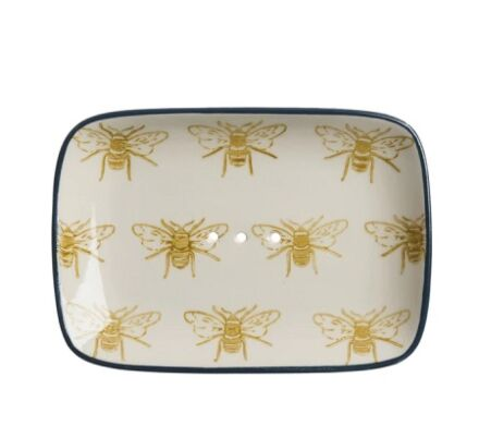 Sophie Allport Bees Stoneware Soap Dish