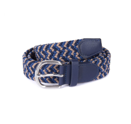 Barbour Woven Belt Navy/Blue/Trench