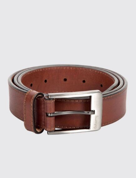 Dubarry Men's Leather Belt Chestnut