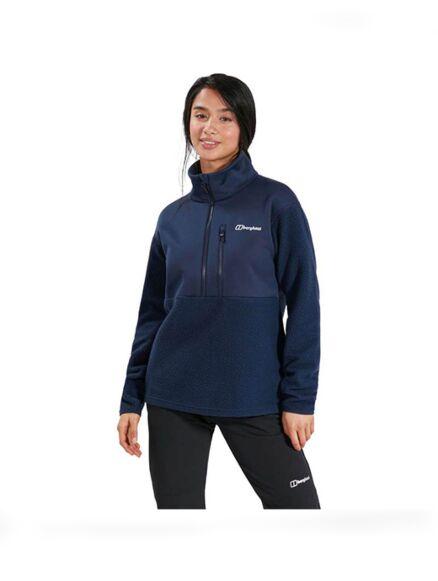 Berghaus Women's Fadley Half Zip Fleece Dark Blue